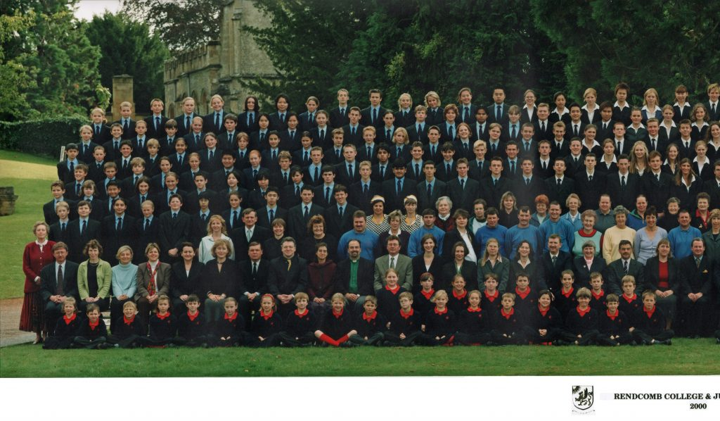 School Photograph 2000 - Left side